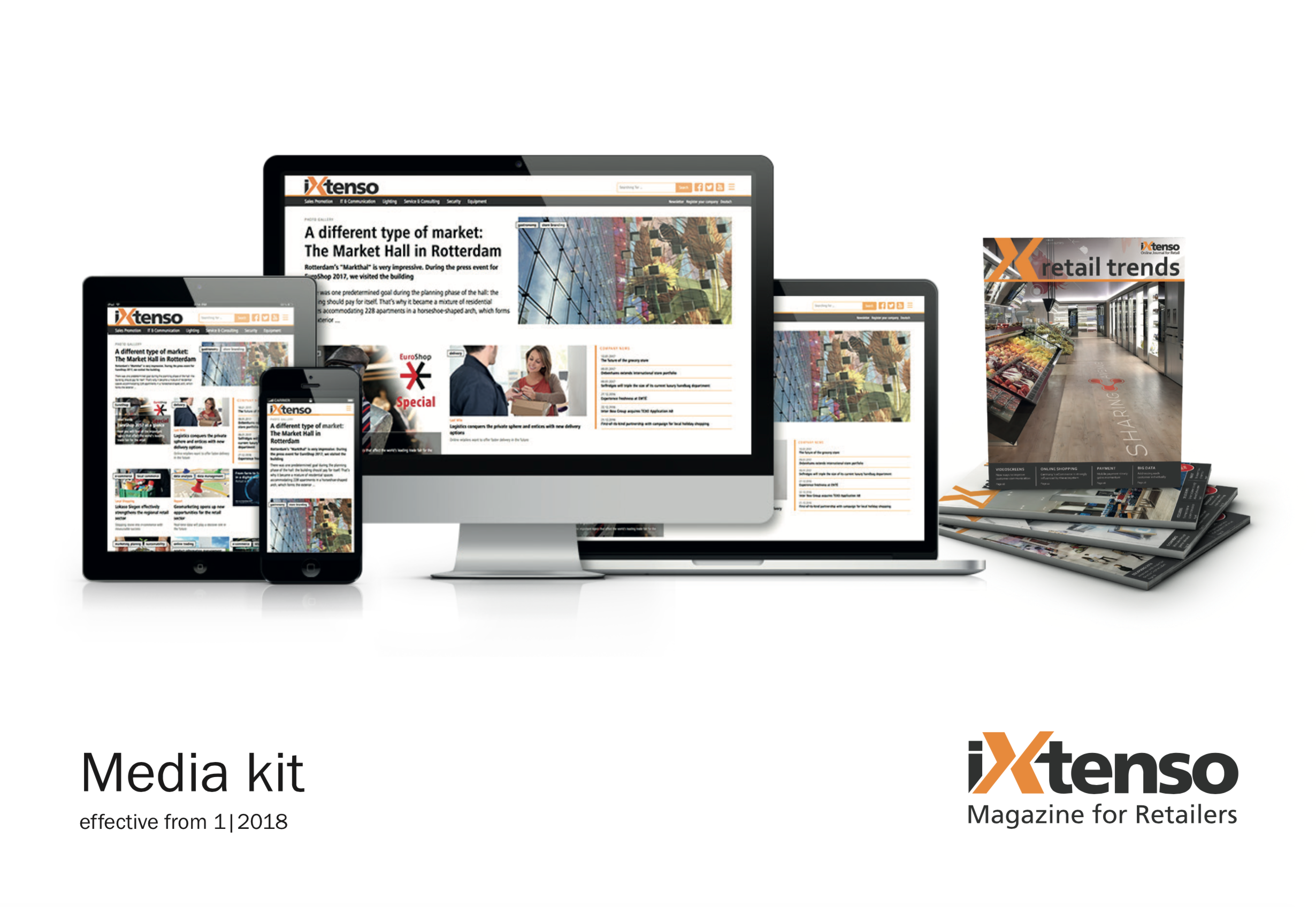 Media Kit iXtenso Mediadaten 2018