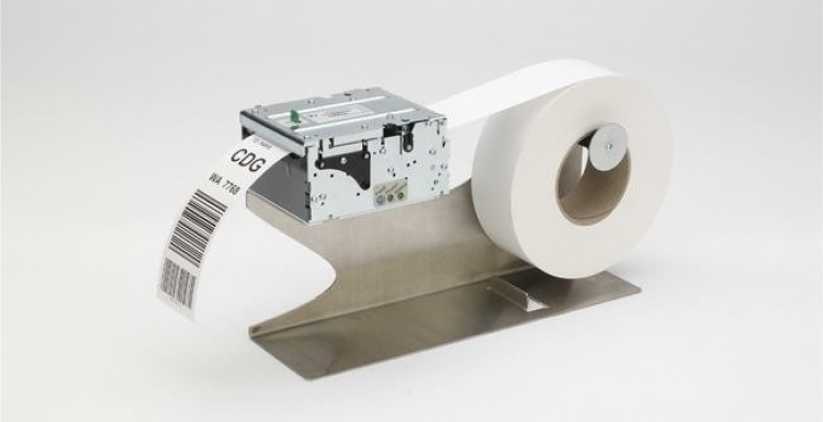 Photo: TTP 2100 - Compact Ticketing & Tag Printer from Zebra...