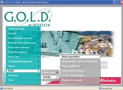G.O.L.D. Radio controls and optimises in real-time all warehouse operations...