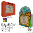 Thumbnail-Photo: Magic Wall game machine offers games and children's cinema...