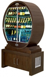 BARRIQUE - Refrigerated and ventilated wine show-case...