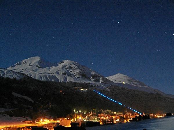 Luminous Track Up The Magic Mountain
