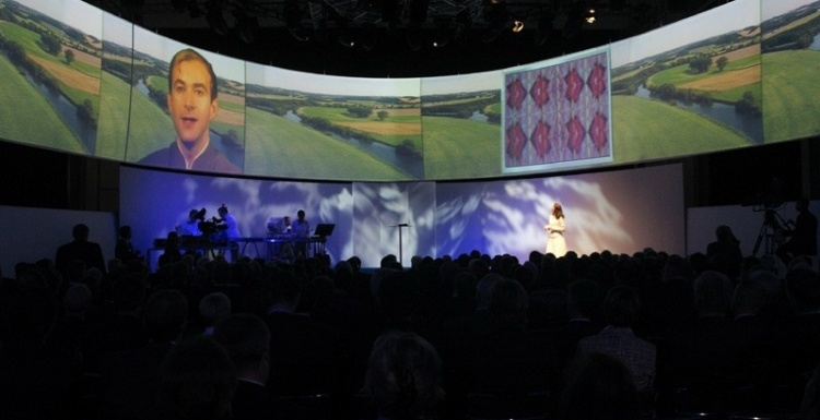 Photo: Experience Large Screen Projections in every Dimension!  Beyond Standard!...