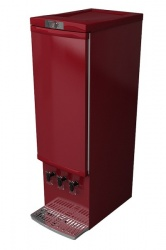 Bag-In-Box Wine Dispenser - 3x10L - wine red