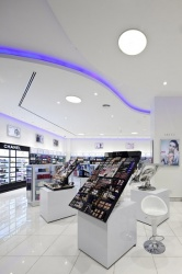 Areej, the leading cosmetics sales chain in the Arab Emirates, sets the scene...