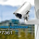 Thumbnail-Photo: Outdoor 2-megapixel Day & Night Network Bullet Camera IP7361...