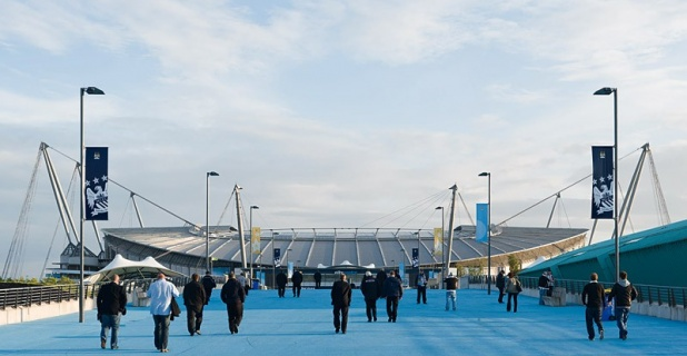 Manchester City Stadium; Fotograf: James Newton, London...