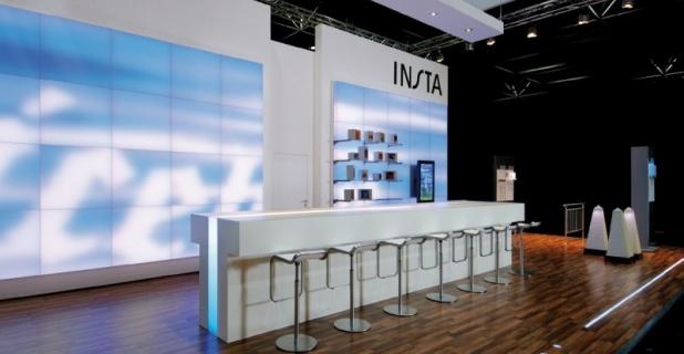 Insta Lüdenscheid four insta fair stands win exhibit design award 2011 ixtenso