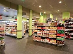 Lighting at carrefour from Bäro