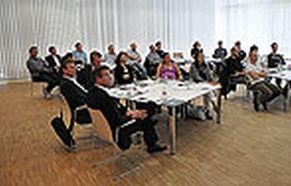 Insta Lüdenscheid kick workshop for the insta programme ixtenso