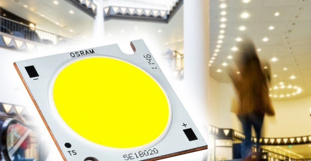 Soleriq E LED for downlights with high performance requirements...
