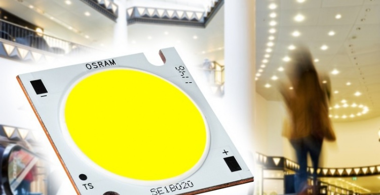 Photo: Soleriq E LED for downlights with high performance requirements...