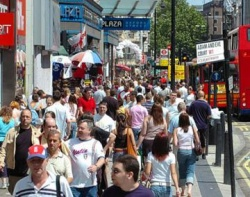 Visitors report satisfaction with Olympic London