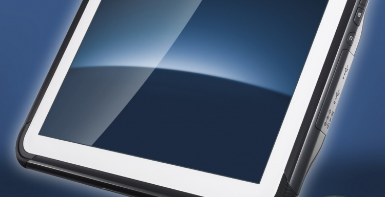 Photo: Casio: Robust tablet PC with professional features...
