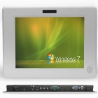Thumbnail-Photo: Fanless super slim-line industrial panel PC with touch screen...