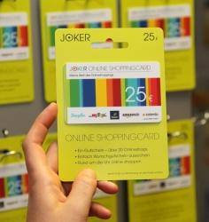 Joker Prepaid Kreditkarte