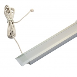 Hera's innovative LED panel luminaire for state-of-the-art shop lighting...