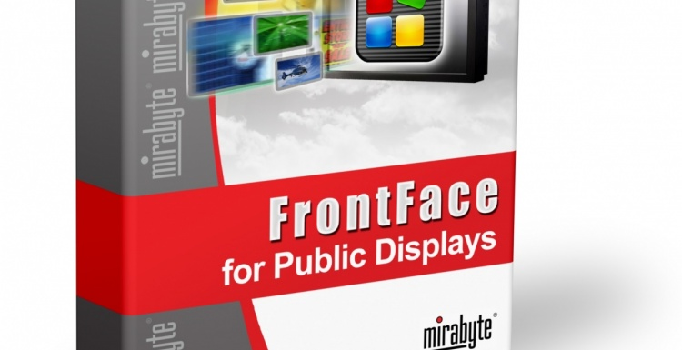 Photo: mirabyte releases new version of its digital signage standard software...