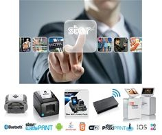 Stars printers allow easy, low cost installation for receipt, label and ticket...