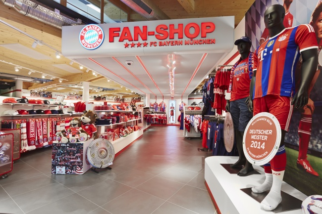 official photos 271f6 6b612 FC Bayern opens fan store No. 9 at Irschenberg - iXtenso ...