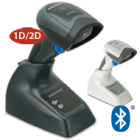 Thumbnail-Photo: QuickScan QBT2400 and QM2400 entry level cordless 2D area imagers...