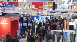 At Messe Essen, 1,045 exhibitors from around 40 nations presented innovations...
