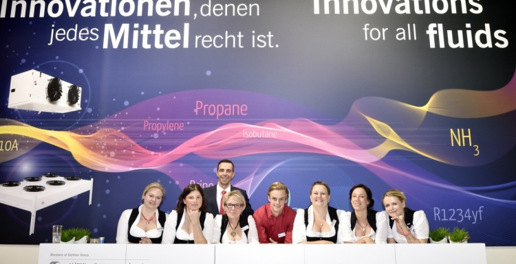Photo: Güntner Innovations at Chillventa