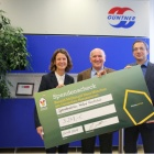 Thumbnail-Photo: Donation handover to McDonald's Kinderhilfe...