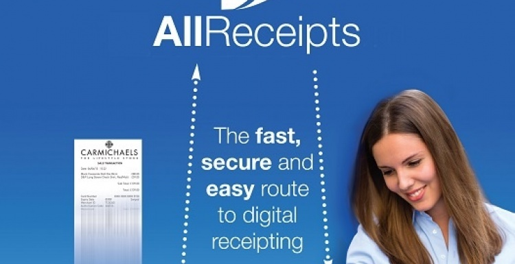 Photo: New free of charge digital receipting service...