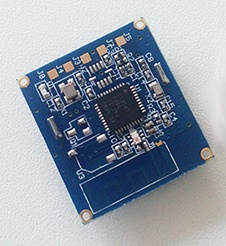 BLE 4.0 transmitter module for Apples iBeacon.