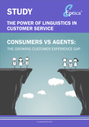 The Eptica Study combined research with consumers and contact centre agents....