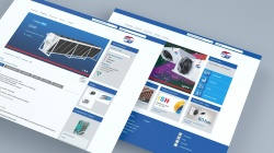 New Güntner website focusing on product information...