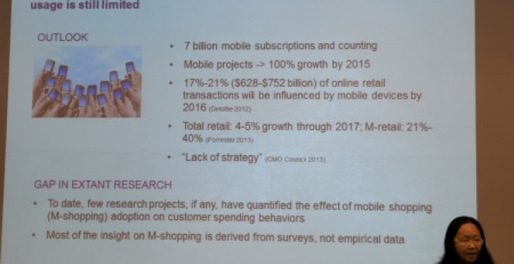 Photo: The impact of mobile technology on purchasing patterns...