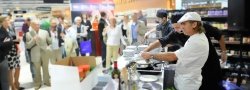 Event cooking lures the customers into the gastronomic areas and into the...