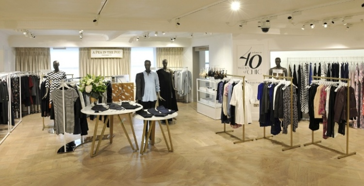 Photo: A Pea in the Pod opens shop in Harrods