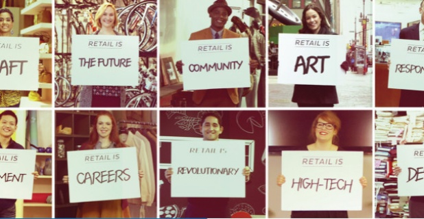 This is Retail campaign highlights the industry's opportunities for life-long...