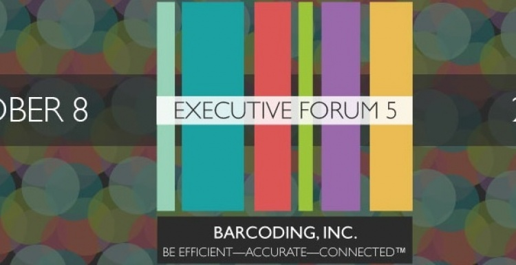 Photo: Supply Chain experts span Barcoding Inc.'s Executive Forum 5 speaker...