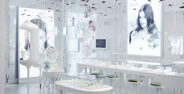 Photo: Shop design works different in China