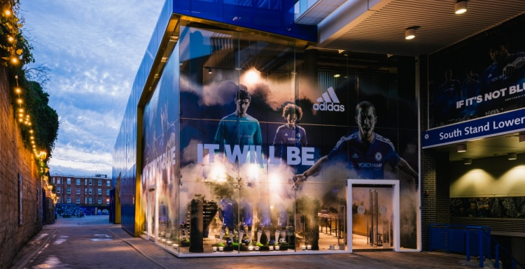 Photo: What shop design can look like: The Chelsea FC Megastore...