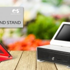 Thumbnail-Photo: C-Frame multi-tablet enclosure and stand