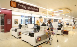 There now are bigger self-checkout terminals for customers with a small...