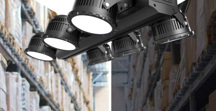 Photo: Video-controlled LED-lighting for an optimum energy efficiency...