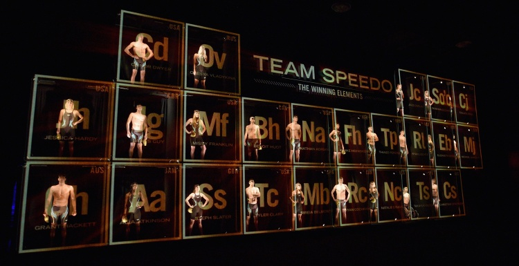 Photo: Holo-Gauze creates augmented reality installation for Team Speedo launch...