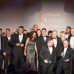 Thumbnail-Photo: wnDirect victorious at the 2016 Slough Business Awards...