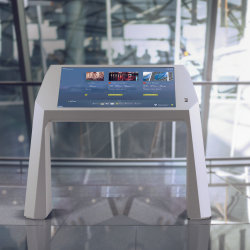 Thumbnail-Photo: Multitouch solution improves traveller experience at Frankfurt Airport...