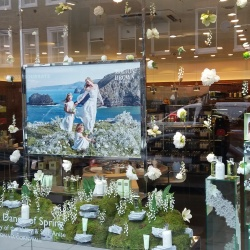 Thumbnail-Photo: Window displays in London: Spring motifs