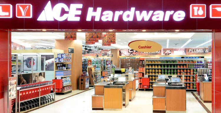 Photo: Ace Hardware loyalty program in retail grocery...