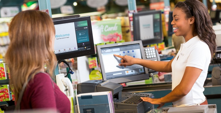 Photo: Grocery chain rolls out next-generation POS and services...