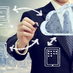 Thumbnail-Photo: Leader in Gartner Magic Quadrant for Managed Hybrid Cloud Hosting...
