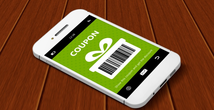 "Photo: Coupons ""to go"" – acquiring and retaining customers with mobile..."